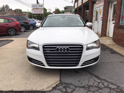 2013 Audi A8 L for sale in West Lawn PA