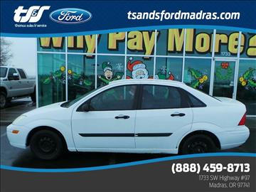 2001 Ford Focus for sale in Madras, OR