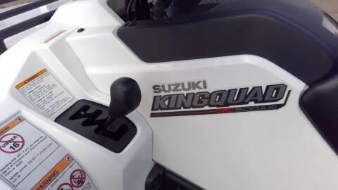 2019 Suzuki KingQuad 500AXi Power Steering
