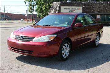 2002 Toyota Camry for sale at Ideal Motorcars in Columbus OH