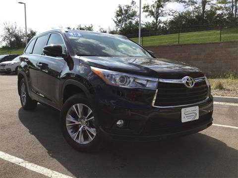 2015 Toyota Highlander for sale in Lee's Summit MO