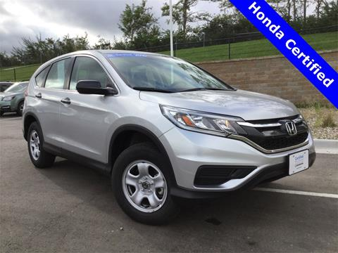 2016 Honda CR-V for sale in Lee's Summit MO