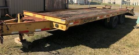 2005 Superline Equipment Trailer for sale in Jacksonville, AR