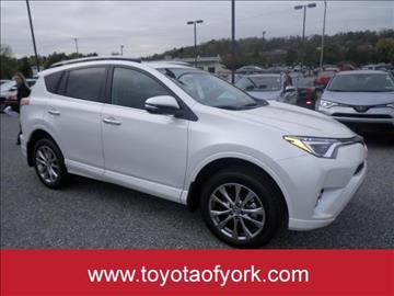 2017 Toyota RAV4 for sale in York, PA