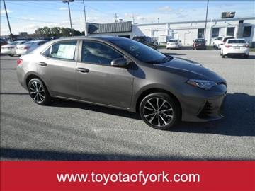 2017 Toyota Corolla for sale in York, PA