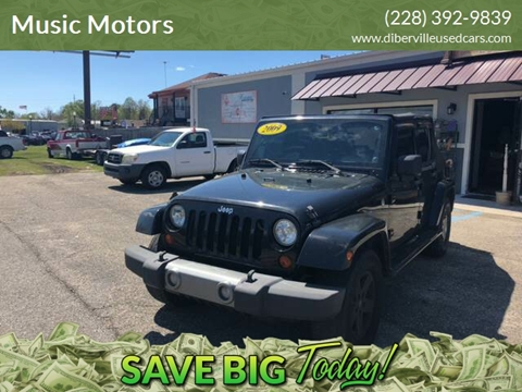 2009 Jeep Wrangler Unlimited for sale in D'Iberville, MS