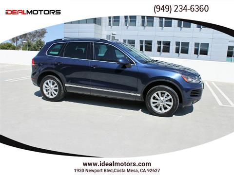 2013 Volkswagen Touareg for sale in Costa Mesa, CA