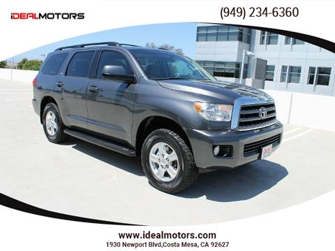 2013 Toyota Sequoia for sale in Costa Mesa, CA