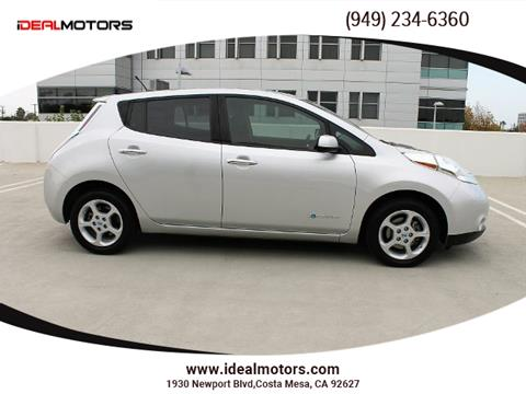 2013 Nissan LEAF for sale in Costa Mesa, CA