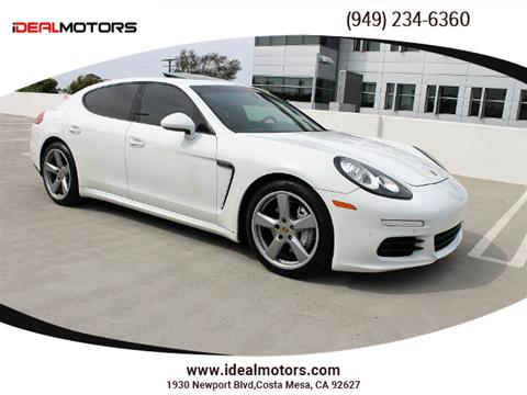 2014 Porsche Panamera for sale in Costa Mesa, CA
