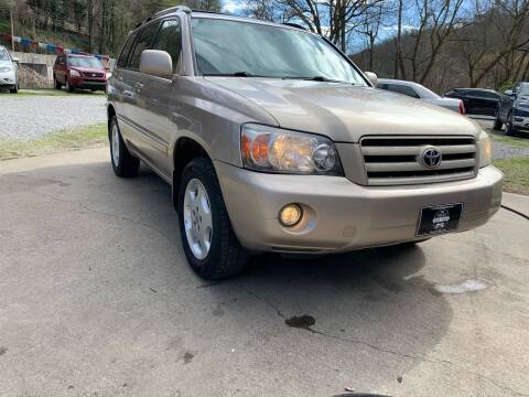 2006 Toyota Highlander for sale at Day Family Auto Sales in Wooton KY