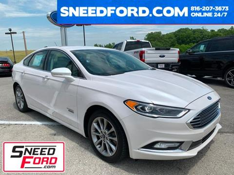 2017 Ford Fusion Energi for sale in Gower, MO