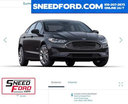 2020 Ford Fusion Hybrid for sale in Gower, MO