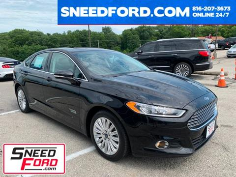 2016 Ford Fusion Energi for sale in Gower, MO