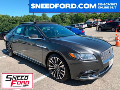 2017 Lincoln Continental for sale in Gower, MO
