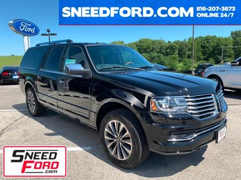 2017 Lincoln Navigator L for sale in Gower, MO