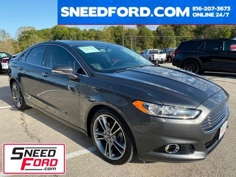 2015 Ford Fusion for sale in Gower, MO