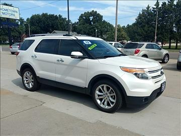 2013 Ford Explorer for sale at HOMETOWN MOTORS in Mcpherson KS