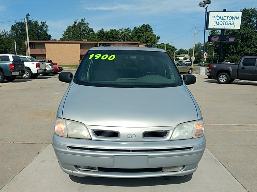 2000 Oldsmobile Silhouette for sale at HOMETOWN MOTORS in Mcpherson KS