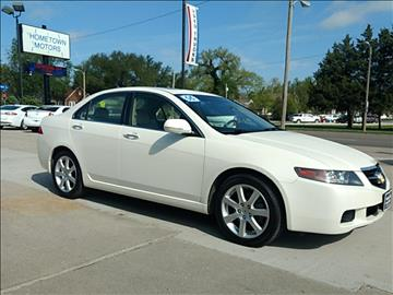 2005 Acura TSX for sale at HOMETOWN MOTORS in Mcpherson KS