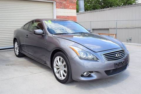 2013 Infiniti G37 Coupe for sale in Grand Prairie, TX