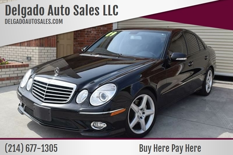 2009 Mercedes-Benz E-Class for sale in Grand Prairie, TX