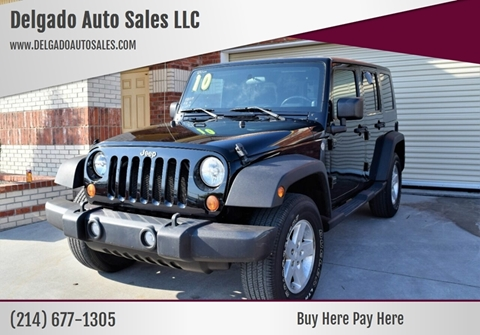 2010 Jeep Wrangler Unlimited for sale in Grand Prairie, TX