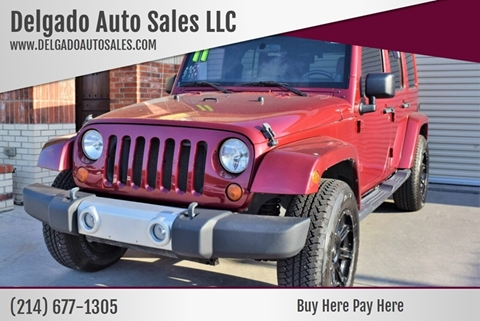 2011 Jeep Wrangler Unlimited for sale in Grand Prairie, TX