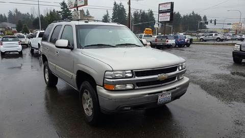 2005 Chevrolet Tahoe for sale in Puyallup, WA