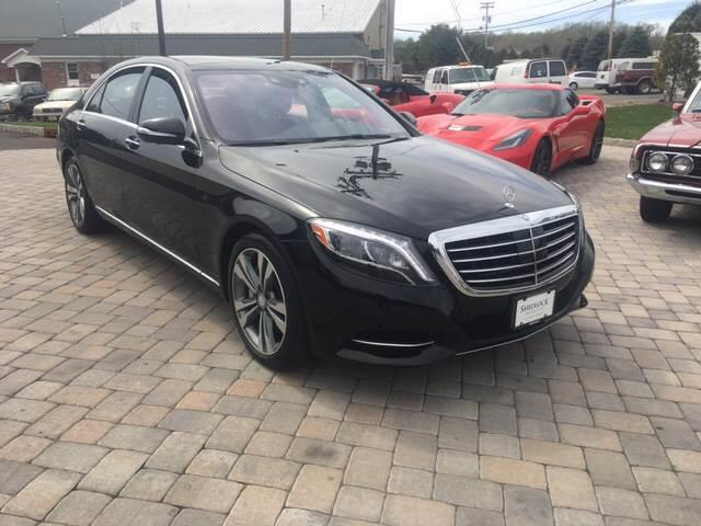 2015 Mercedes Benz S Class For Sale At Shedlock Motor Cars LLC In Warren