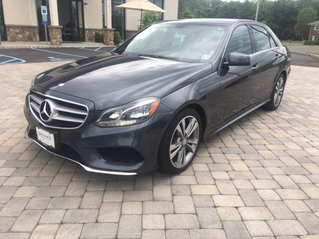 2014 Mercedes-Benz E-Class for sale at Shedlock Motor Cars LLC in Warren NJ