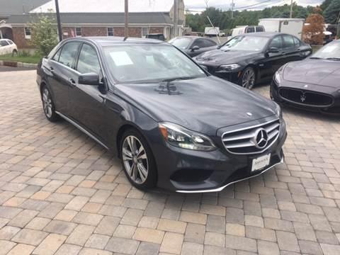 2014 Mercedes-Benz E-Class for sale at Shedlock Motor Cars LLC in Warren NJ