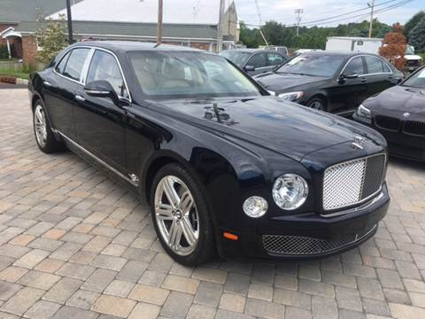 2012 Bentley Mulsanne for sale at Shedlock Motor Cars LLC in Warren NJ