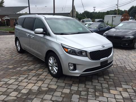 2015 Kia Sedona for sale at Shedlock Motor Cars LLC in Warren NJ