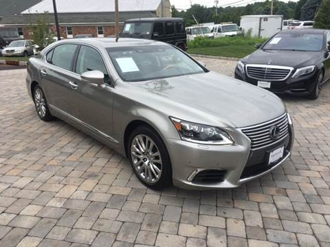 2016 Lexus LS 460 for sale at Shedlock Motor Cars LLC in Warren NJ