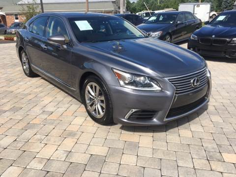 2015 Lexus LS 460 for sale at Shedlock Motor Cars LLC in Warren NJ