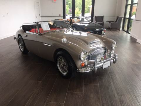 1966 Austin-Healey 3000 MKIII for sale at Shedlock Motor Cars LLC in Warren NJ