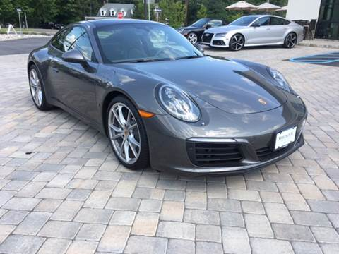 2017 Porsche 911 for sale at Shedlock Motor Cars LLC in Warren NJ
