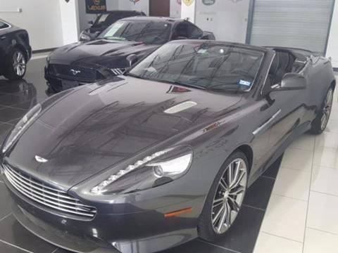 2014 Aston Martin DB9 for sale at Shedlock Motor Cars LLC in Warren NJ
