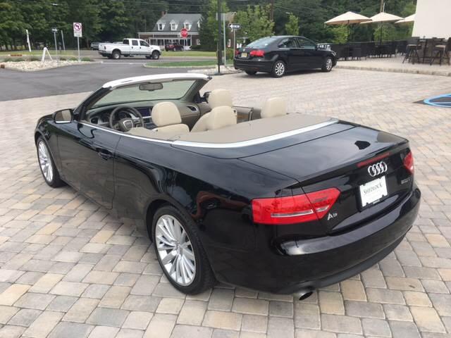 2010 Audi A5 for sale at Shedlock Motor Cars LLC in Warren NJ