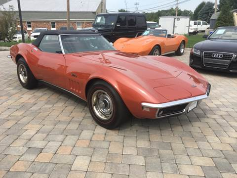 1968 Chevrolet Corvette for sale at Shedlock Motor Cars LLC in Warren NJ