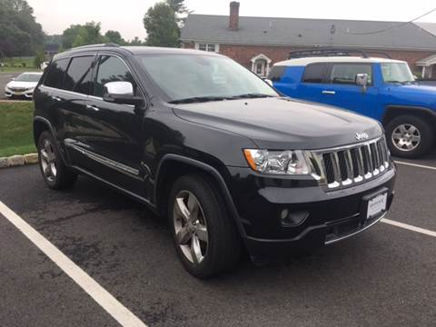 2012 Jeep Grand Cherokee for sale at Shedlock Motor Cars LLC in Warren NJ