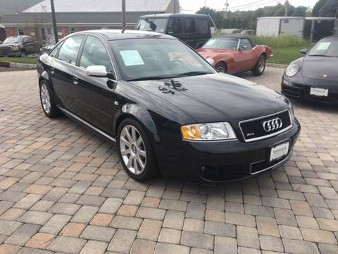 2003 Audi RS 6 for sale at Shedlock Motor Cars LLC in Warren NJ