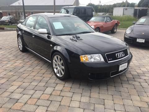 2003 Audi RS 6 for sale at Shedlock Motor Cars LLC in Warren NJ
