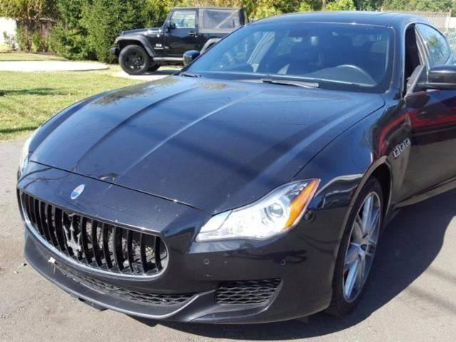 2014 Maserati Quattroporte for sale at Shedlock Motor Cars LLC in Warren NJ