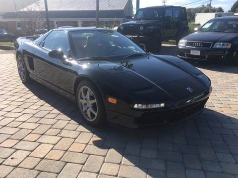 1996 Acura NSX for sale at Shedlock Motor Cars LLC in Warren NJ