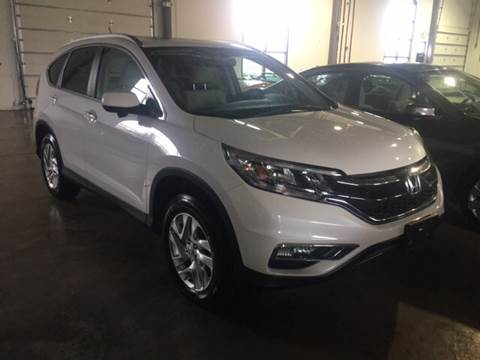 2015 Honda CR-V for sale at Shedlock Motor Cars LLC in Warren NJ
