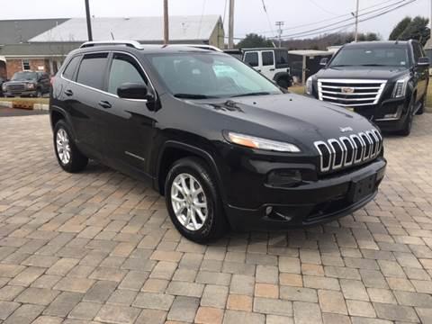 2015 Jeep Cherokee for sale at Shedlock Motor Cars LLC in Warren NJ