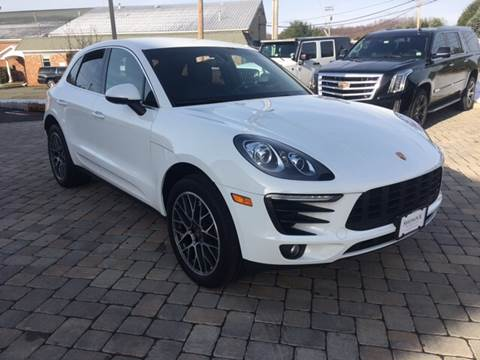 2015 Porsche Macan for sale at Shedlock Motor Cars LLC in Warren NJ