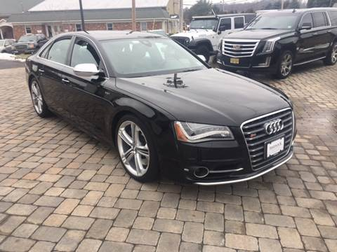 2013 Audi S8 for sale at Shedlock Motor Cars LLC in Warren NJ